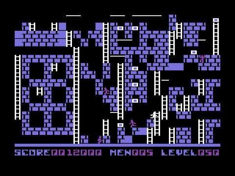 Commodore 64 Championship Lode Runner Level 050 Youtube