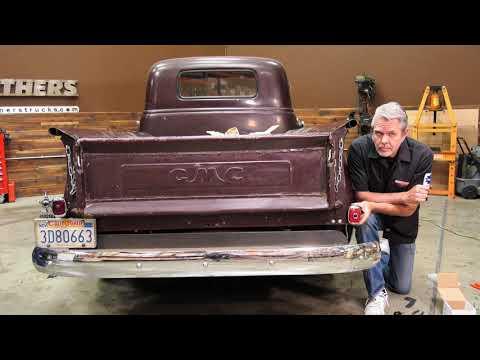 1947-54 Chevy & GMC Truck Custom Tail Light Brackets