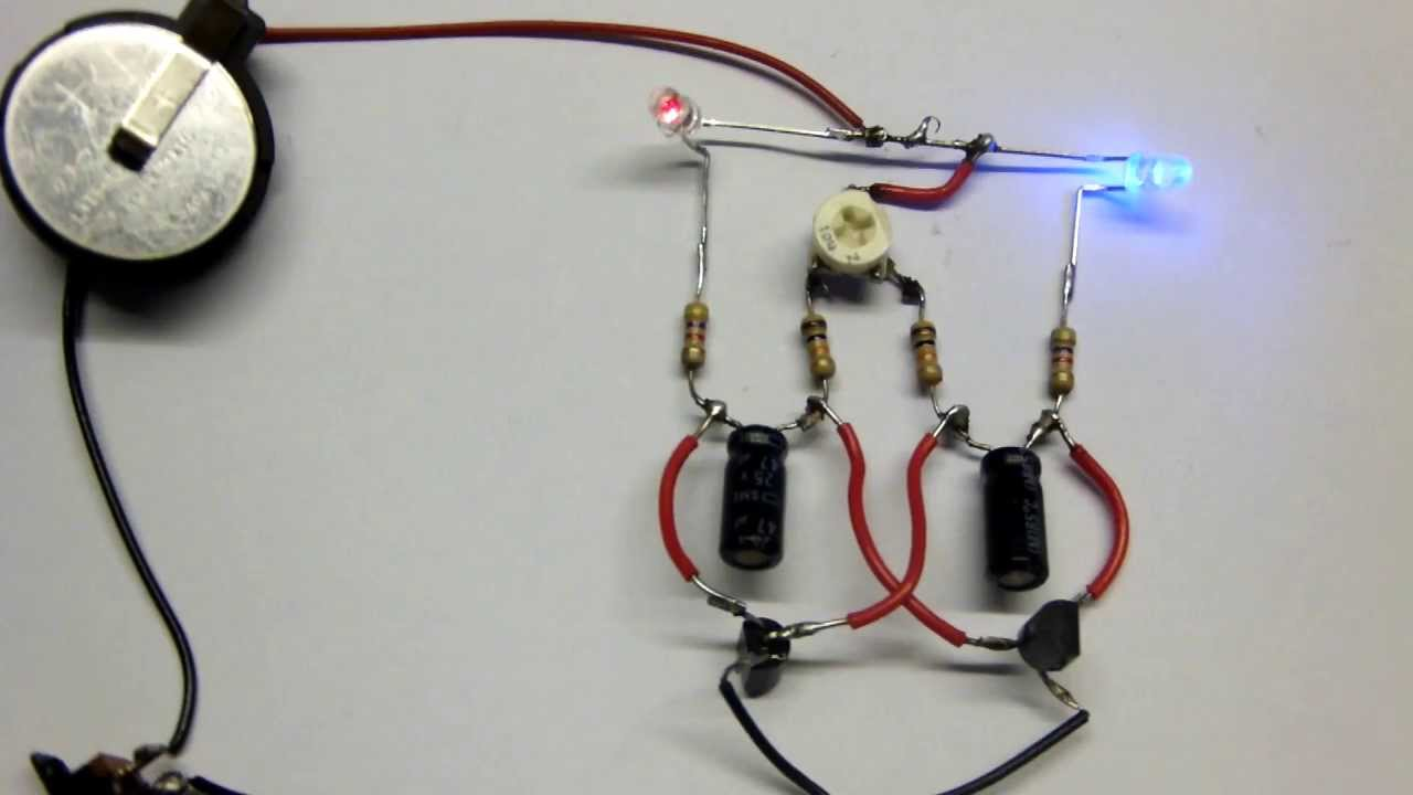 Variable Alternating Flasher Circuit For R2-d2