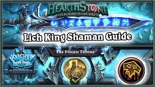 Hearthstone: Defeating Lich King Boss Guide - Standard Shaman Deck
