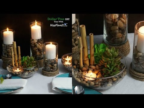 DIY Dollar Tree $7.00 Simply Succulent Centerpiece  |  DIY Dollar Tree  Decorations |  DIY  Tutorial