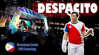 Download lagu DESPACITO - Brennan Louie (Philippine Fencing)
