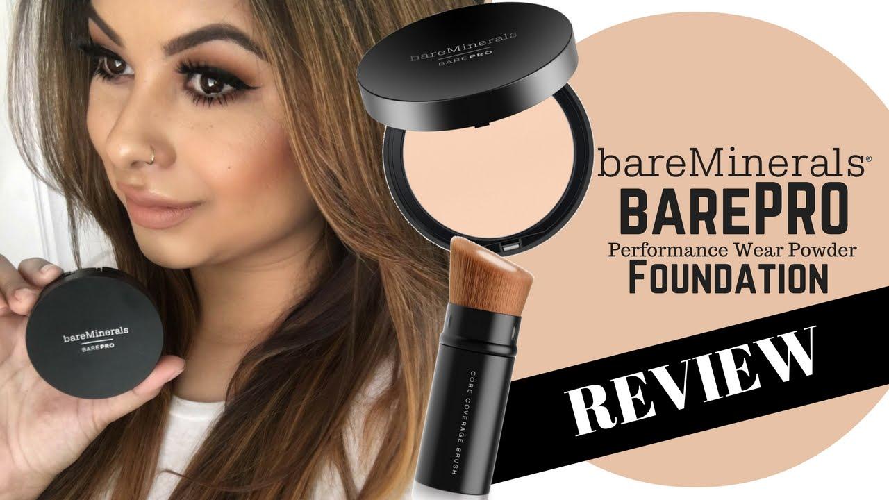 Bareminerals Barepro Foundation Review Tutorial