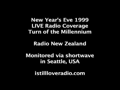 LIVE Radio New Zealand: Turn of the Millennium 1999