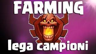 10 MILIONI DI RISORSE IN LEGA CAMPIONI - Clash of Clans farming ITA