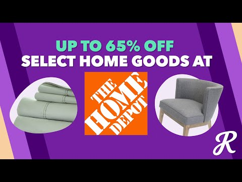 The Deal Download With The Home Depot: Up to 65% Off During the Days of Decor