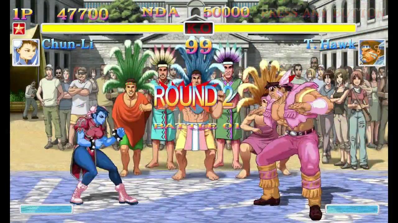 Ultra Street Fighter II - Color Editor footage