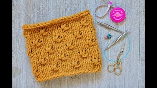 Knit Knotted Cowl (Toddler size)