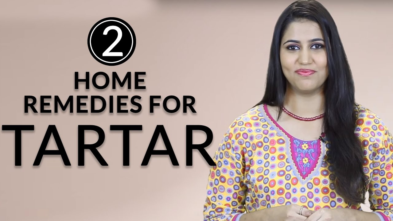How To REMOVE PLAQUE & TARTAR From Teeth At Home Naturally