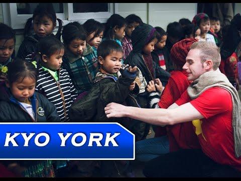 Kyo York  thiện nguyện tại TÂY BẮC