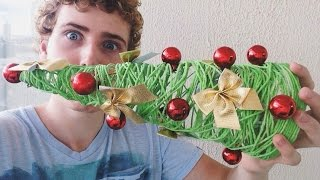 Árvore de natal de barbante (super fácil) Igor Saringer
