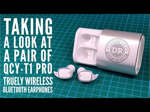 QCY-T1 Pro - Taking a look at a pair of QCY's latest truely wireless bluetooth earphones