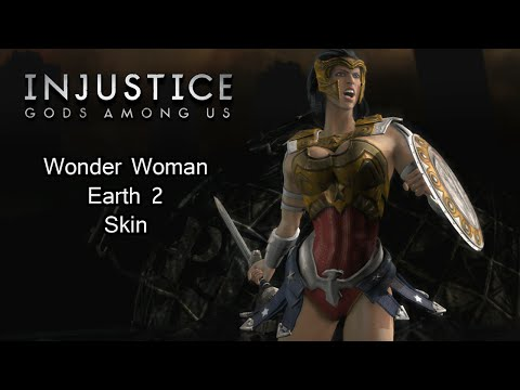 Sexy Wonder Woman - Earth 2 Skin - Injustice Gods Among Us