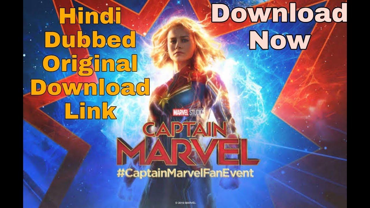 Captain Marvel Hindi Dubbed 100% Original Download Link