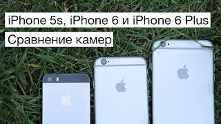 Сравнение камер iPhone 5s, iPhone 6 и iPhone 6 Plus