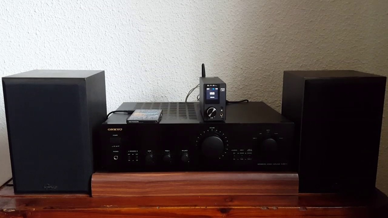SMSL AD18 + Gale Reference monitor