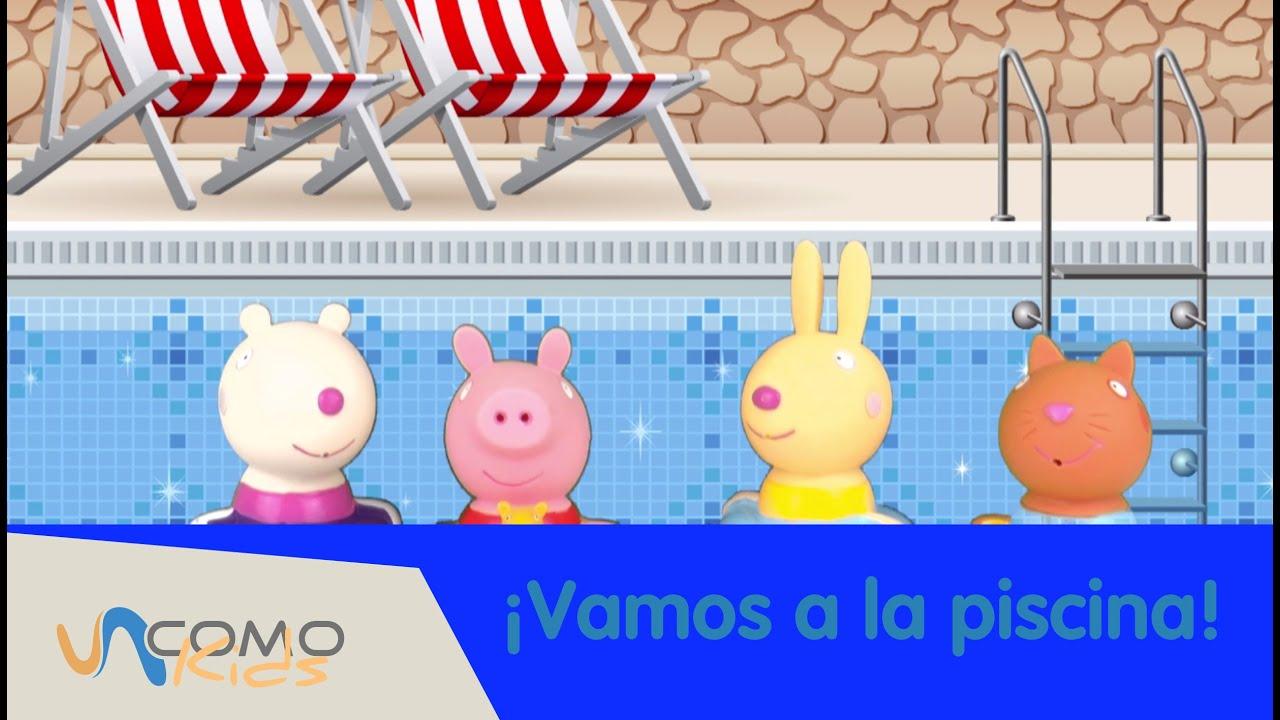 Las aventuras de Peppa Pig Vamos a la piscina