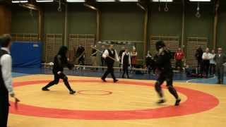 Swordfish 2013 open longsword 1/4 G. Brzeziński vs S. Torell