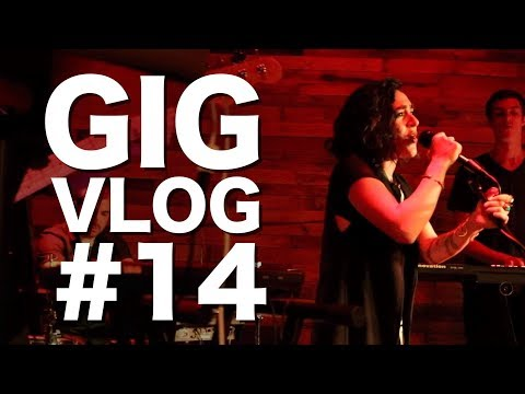 My laptop fails, and I play in 3 bands on the same bill | Gig Vlog #14