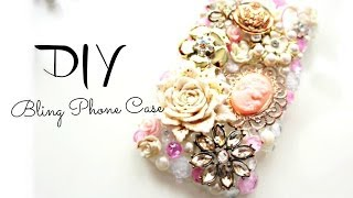 DIY Cute Bling Deco Phone case