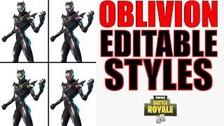Will Oblivion Have Editable Styles? - Fortnite Skins