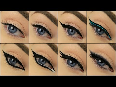 8 Different Drugstore Eyeliner Styles