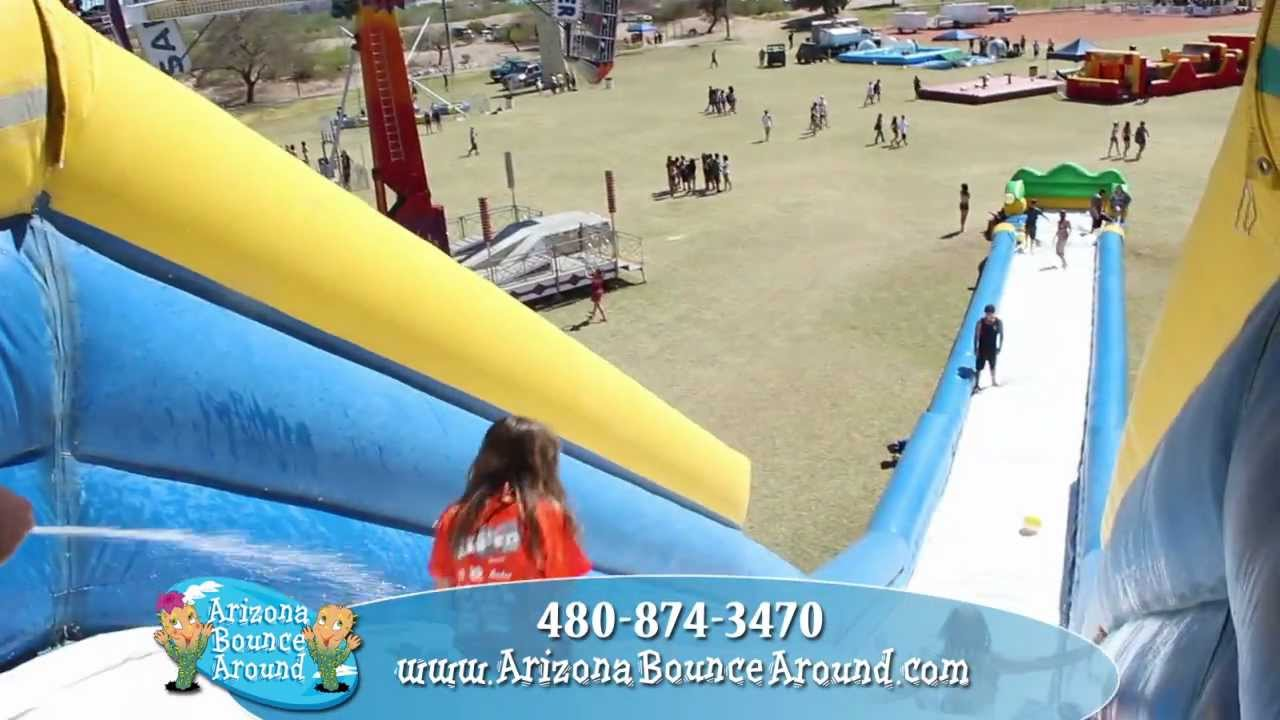 rhino slide rental giant inflatable water slides for rent az ca nv co nm - Blow Up Water Slides