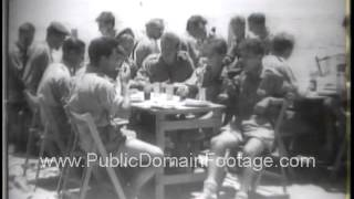 Middle East Crisis 1958 Propaganda War - newsreel and archival footage