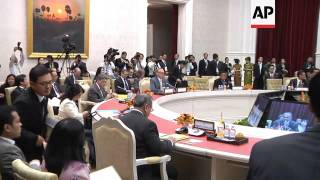 Arrivals for third day of the ASEAN foreign ministers' meeting