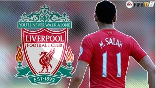 FIFA 17: Mohamed Salah - Welcome To Liverpool FC |Goals & Skills Montage - by Pirelli7