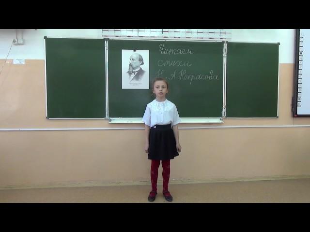 Изображение предпросмотра прочтения – ПолинаСуббота читает произведение «Перед дождем» Н.А.Некрасова