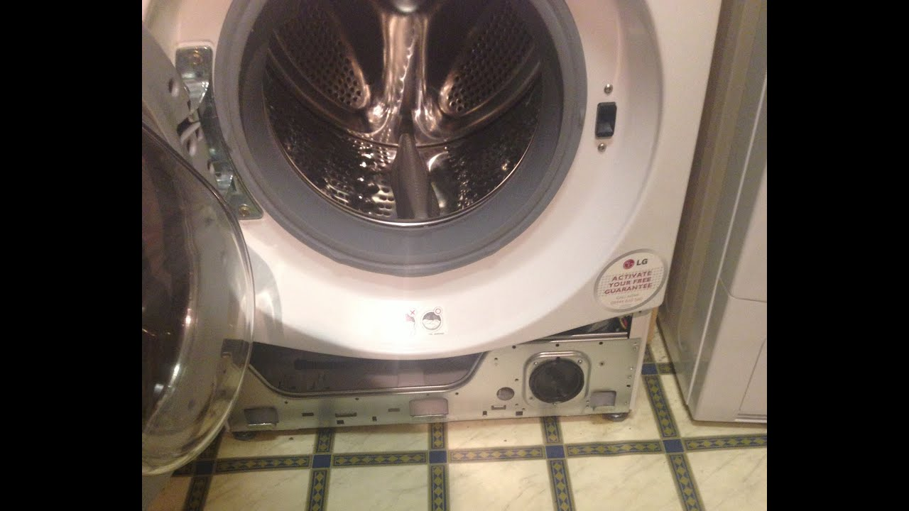 Inside Lg 9kg Steam Washer Tub Clean Cycle