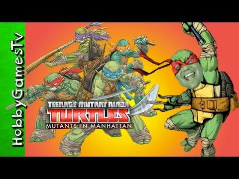 Teenage Mutant Ninja Turtle Mutants In Manhattan  HobbyGamesTV
