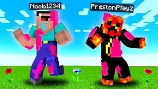 We Infected PRESTONPLAYZ And NOOB1234 With A SCARY VIRUS (Bad Idea ...) - Minecraft Mods Gameplay