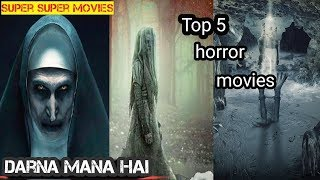 TOP 5 Hollywood horror movies /conjuring universe horror movies (super super movies)