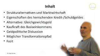 Grundeinkommen - sofort machbar mit Ggg, Lindentaler, Gradido, Palai, BGE-Kreise,...- Dr Dag Schulze