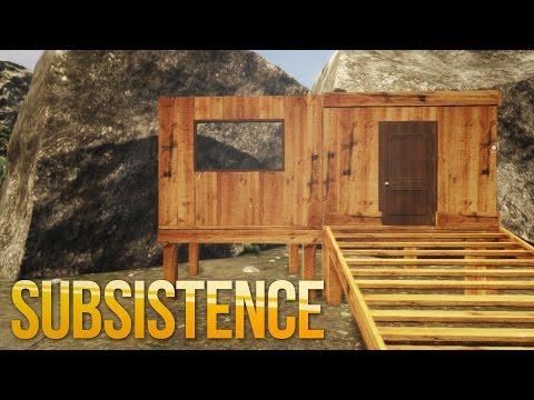 Subsistence КАК ПОСТРОИТЬ ДОМ