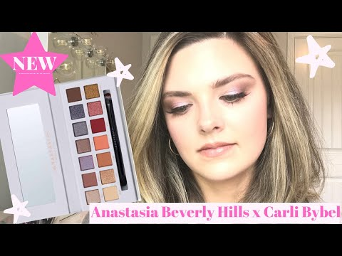 Anastasia Beverly Hills x Carli Bybel Palette Review // Swatches & Tutorial 💕 thumbnail