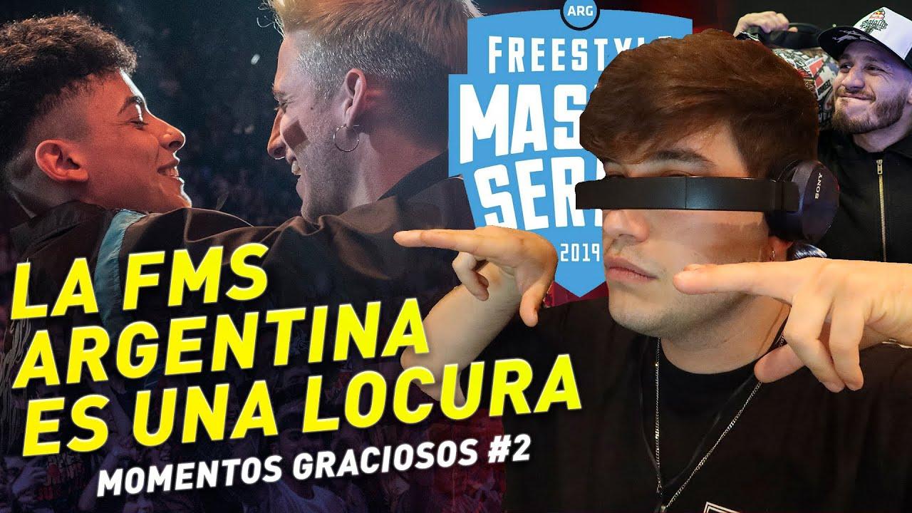 🤣😂SI TE RIES PIERDES😂🤣FMS ARGENTINA MOMENTOS GRACIOSOS PARTE 2