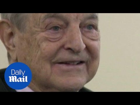 George Soros Speaking With Bloomberg's TV In 2012 In Davos - Daily Mail