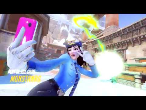 [ PC ] Overwatch Competitive Nepal Dva Play of the Game Over the Top Triple Ult
