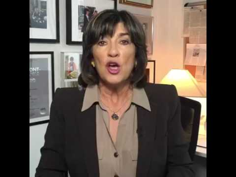 CNN's Amanpour Talks About the Interview She Had with Pres. Buhari
