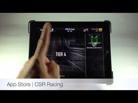 รีวิวเกมส์ CSR Racing จาก App Store