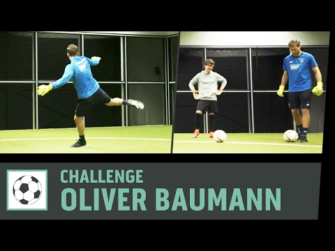 Footbonaut-Challenge vs. Oliver Baumann | TSG 1899 Hoffenheim | Kickbox
