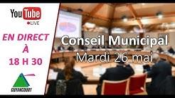 Conseil Municipal du 26 Mai 2020