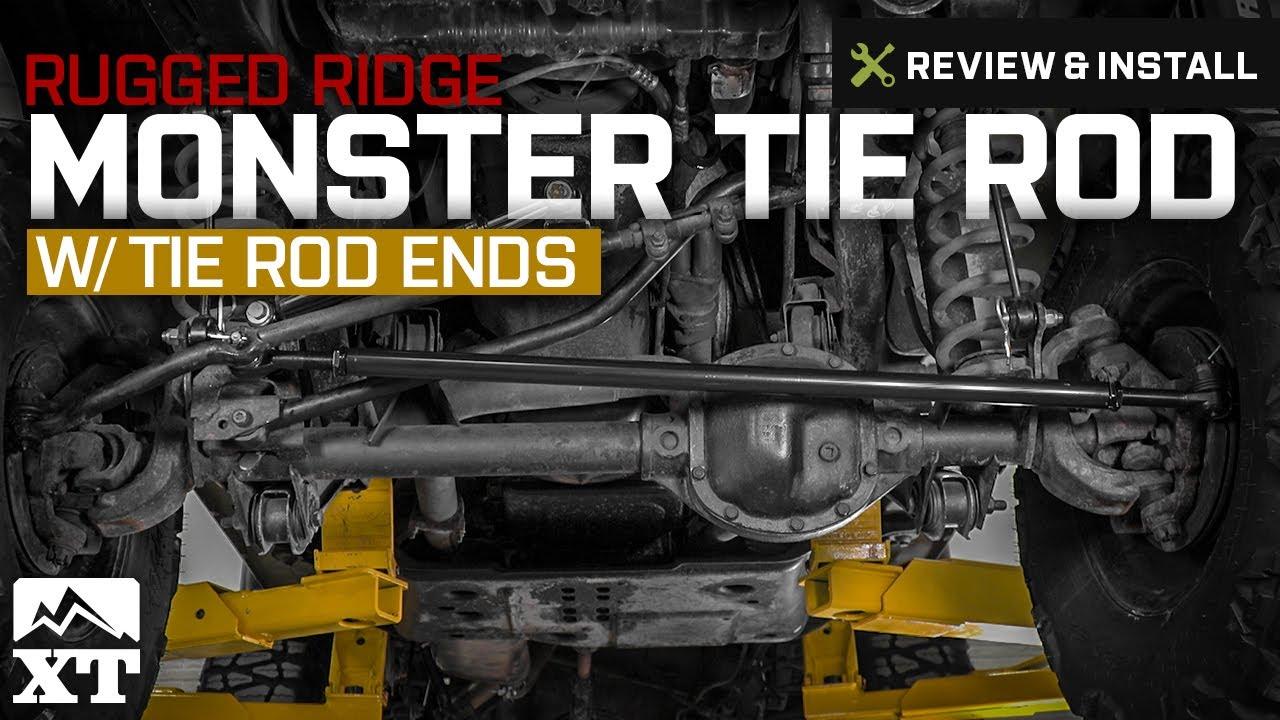 Jeep Wrangler Rugged Ridge Monster Tie Rod W/ Tie Rod Ends (1997 2006 TJ)  Review