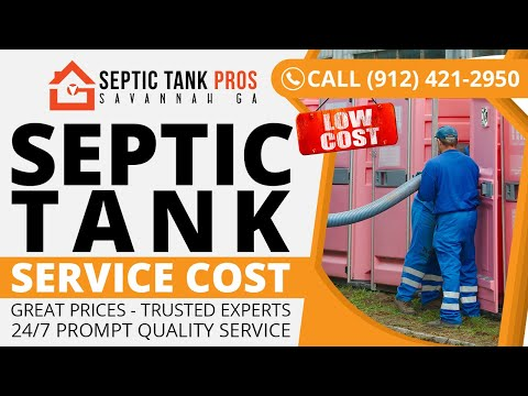 Septic Tank Service Cost in Hartville