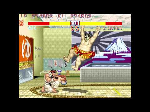 Street Fighter 30th Anniversary Arcade - Street Fighter II Hyper Fighting [Full Play]