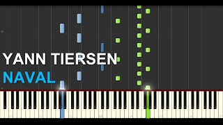 Yann Tiersen - Naval (Synthesia Tutorial)