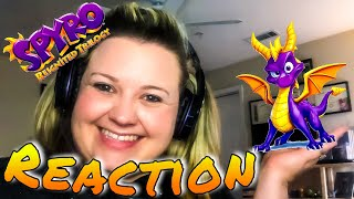 Spyro Reignited Trilogy Official Trailer Reaction With Caty Waller